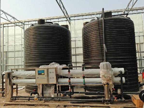 东营现代农业园水处理项目