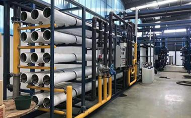 反渗透纯水设备工作原理